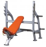 ML-0110 Олимпийская наклонная скамья